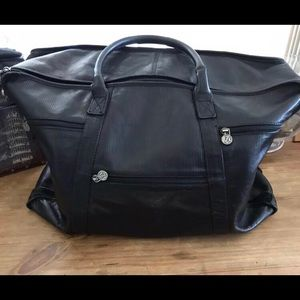 Vintage black weekend bag